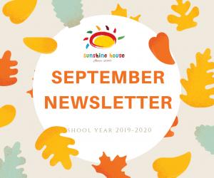 Newsletter September 2019;