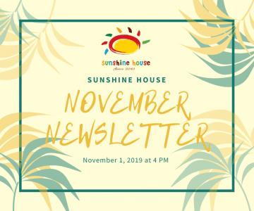 Newsletter November 2019!